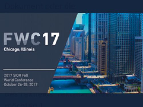 MODESTA REAL ESTATE REPRESENTED AT THE 2017 SIOR FALL WORLD CONFERENCE IN CHICAGO